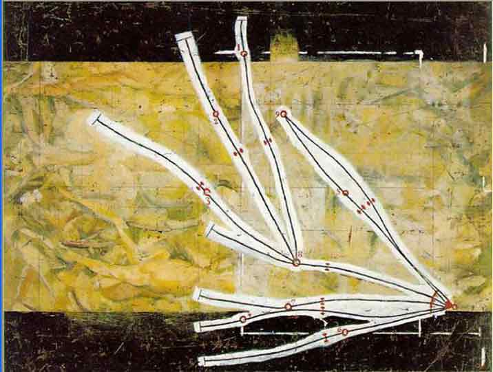 Duchamp's Network of Stoppages